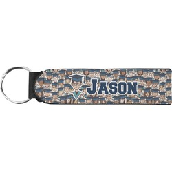 Graduating Students Neoprene Keychain Fob (Personalized)