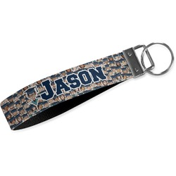 Graduating Students Wristlet Webbing Keychain Fob (Personalized)