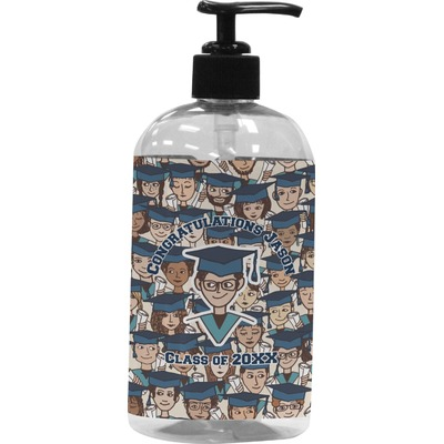 Graduating Students Plastic Soap / Lotion Dispenser (Personalized)