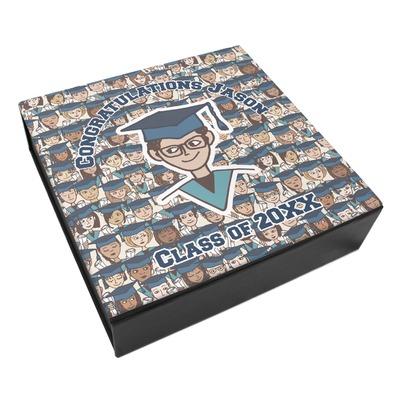 Graduating Students Leatherette Keepsake Box - 3 Sizes (Personalized)