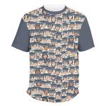 Graduating Students Men's Crew T-Shirt (Personalized)