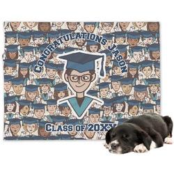 Graduating Students Dog Blanket (Personalized)
