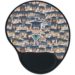 Graduating Students Mouse Pad with Wrist Support