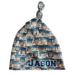 Graduating Students Newborn Hat - Knotted (Personalized)