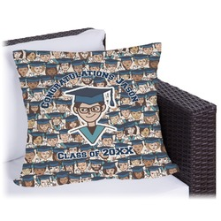 Graduating Students Outdoor Pillow (Personalized)