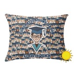 Graduating Students Outdoor Throw Pillow (Rectangular) (Personalized)