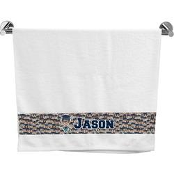 Graduating Students Bath Towel (Personalized)