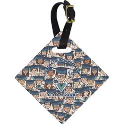 Graduating Students Diamond Luggage Tag (Personalized)