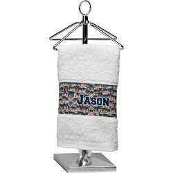Graduating Students Finger Tip Towel (Personalized)