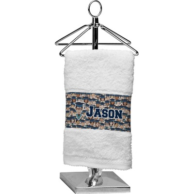 Graduating Students Cotton Finger Tip Towel (Personalized)