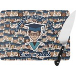 Graduating Students Rectangular Glass Cutting Board (Personalized)