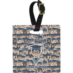 Graduating Students Square Luggage Tag (Personalized)