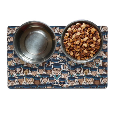 Graduating Students Dog Food Mat (Personalized)