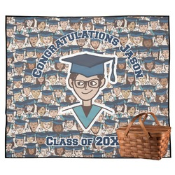 Graduating Students Outdoor Picnic Blanket (Personalized)