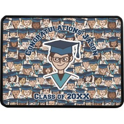 Graduating Students Rectangular Trailer Hitch Cover (Personalized)