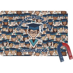Graduating Students Rectangular Fridge Magnet (Personalized)