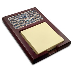 Graduating Students Red Mahogany Sticky Note Holder (Personalized)