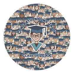 Graduating Students Round Decal (Personalized)