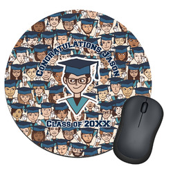 Graduating Students Round Mouse Pad (Personalized)