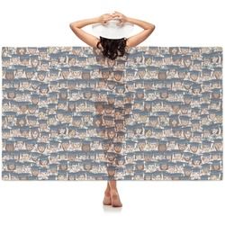 Graduating Students Sheer Sarong (Personalized)