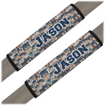 Graduating Students Seat Belt Covers (Set of 2) (Personalized)