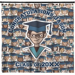 Graduating Students Shower Curtain (Personalized)