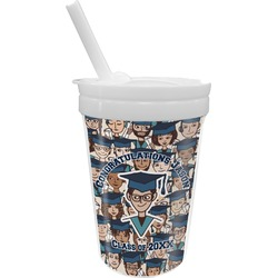 Graduating Students Sippy Cup with Straw (Personalized)