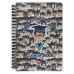 Graduating Students Spiral Bound Notebook (Personalized)