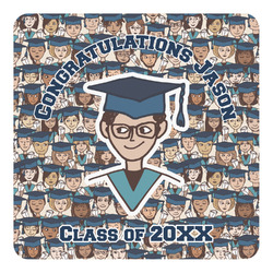 Graduating Students Square Decal (Personalized)