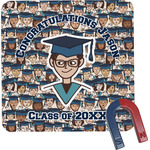 Graduating Students Square Fridge Magnet (Personalized)