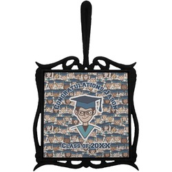 Graduating Students Trivet with Handle (Personalized)