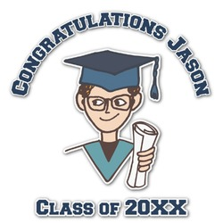 Graduating Students Graphic Decal - Custom Sizes (Personalized)