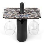 Graduating Students Wine Bottle & Glass Holder (Personalized)