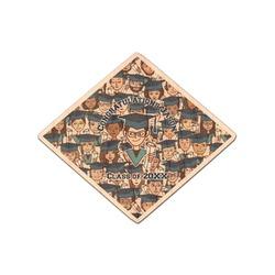 Graduating Students Genuine Wood Sticker (Personalized)