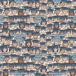 Graduating Students Wrapping Paper (Personalized)