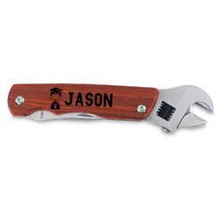 Graduating Students Wrench Multi-Tool - Double Sided (Personalized)