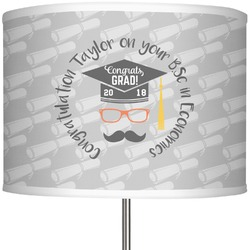 """Hipster Graduate 13"""" Drum Lamp Shade (Personalized)"""