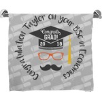 Hipster Graduate Bath Towel (Personalized)