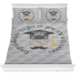 Hipster Graduate Comforters (Personalized)