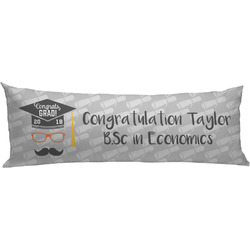 Hipster Graduate Body Pillow Case (Personalized)