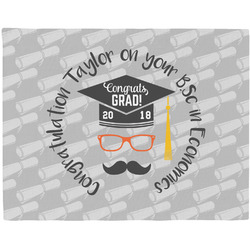 Hipster Graduate Placemat (Fabric) (Personalized)