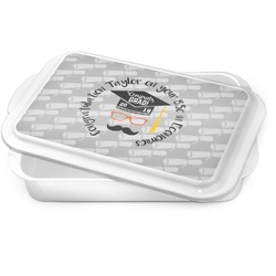Hipster Graduate Cake Pan (Personalized)