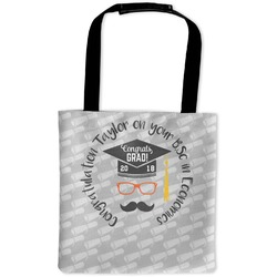 Hipster Graduate Auto Back Seat Organizer Bag (Personalized)