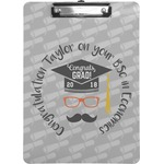 Hipster Graduate Clipboard (Personalized)
