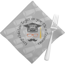 Hipster Graduate Napkins (Set of 4) (Personalized)
