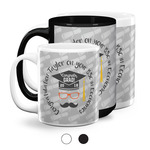 Hipster Graduate Coffee Mugs (Personalized)