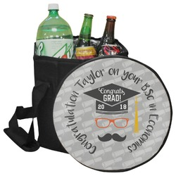 Hipster Graduate Collapsible Cooler & Seat (Personalized)