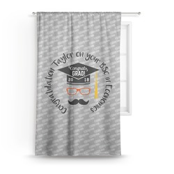 Hipster Graduate Curtain (Personalized)