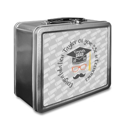 Hipster Graduate Lunch Box (Personalized)