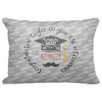 """Hipster Graduate Decorative Baby Pillowcase - 16""""x12"""" (Personalized)"""